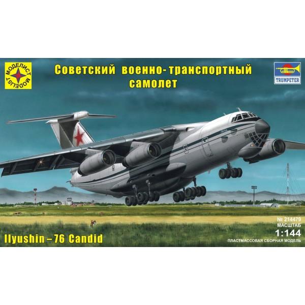Советский военно-транспортный самолёт Ил-76