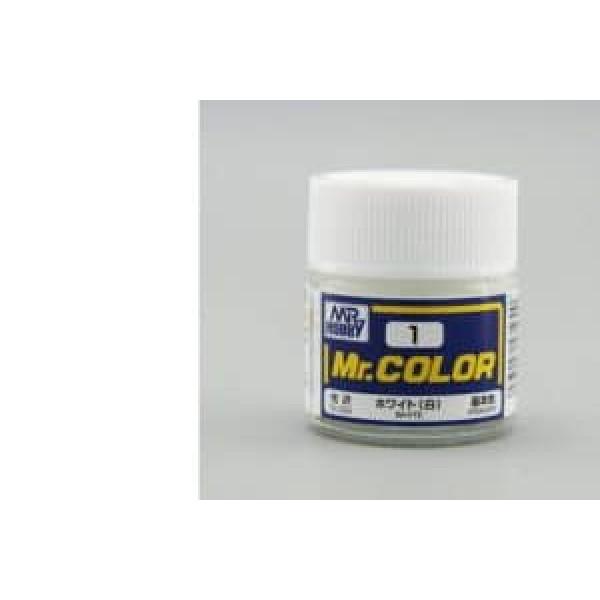 C 001 краска 10мл WHITE