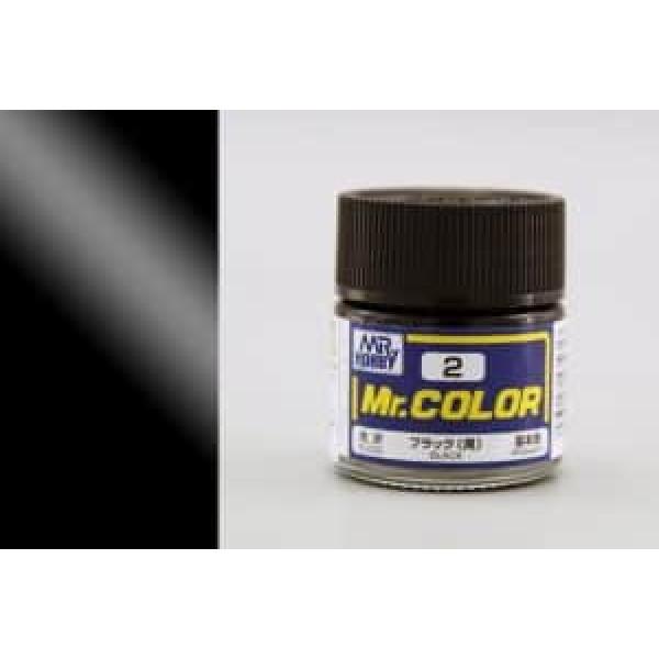 C 002 краска 10мл BLACK