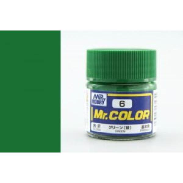 C 006 краска 10мл GREEN