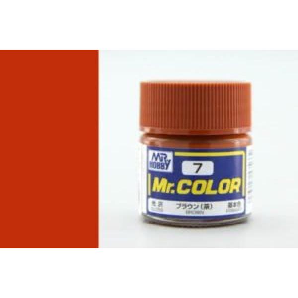 C 007 краска 10мл BROWN