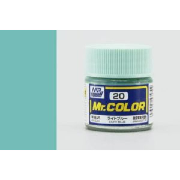 C 020 краска 10мл LIGHT BLUE