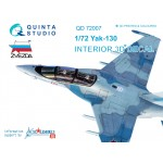 3D Декаль интерьера кабины Як-130 (для модели Звезда)