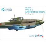 3D Декаль интерьера кабины Ил-2 (для модели Tamiya)