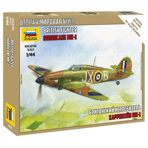 Британский истребитель Харрикейн Мк-1