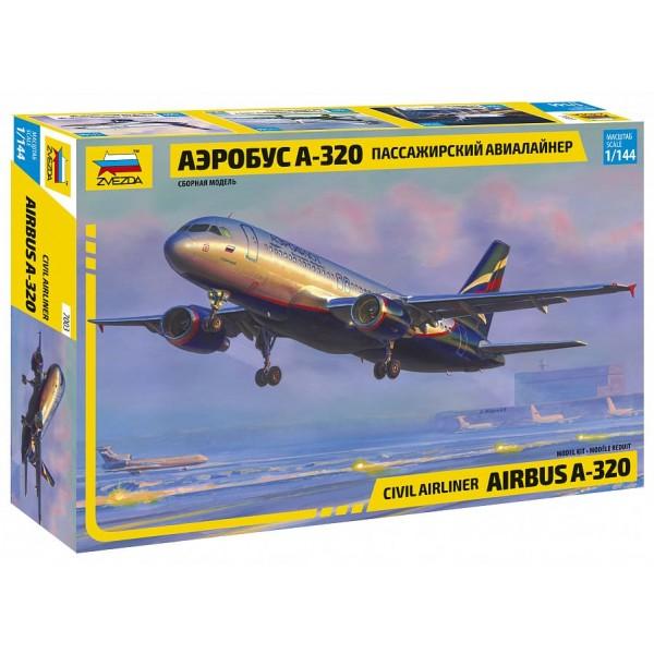 Гражданский авиалайнер Аэробус А320