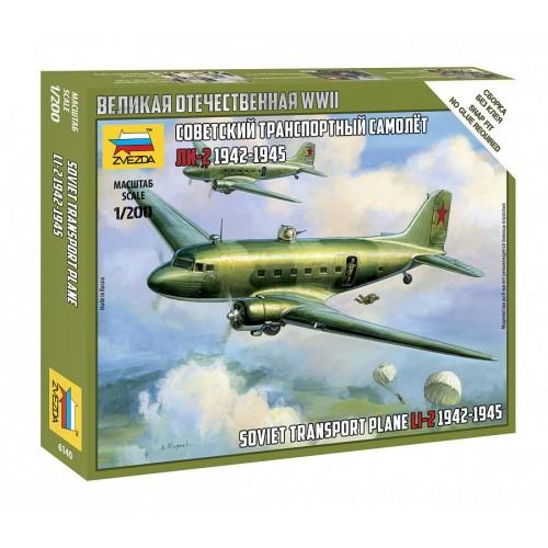 Советский транспортный самолет Ли-2 (1942-1945)