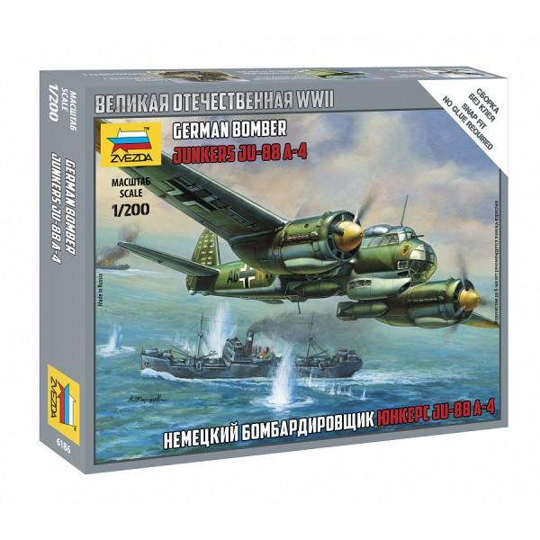 "Немецкий бомбардировщик ""Юнкерс"" Ju-88A4"