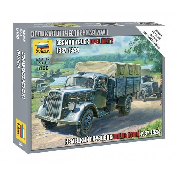 Немецкий грузовик Опель Блиц (1937-1944)