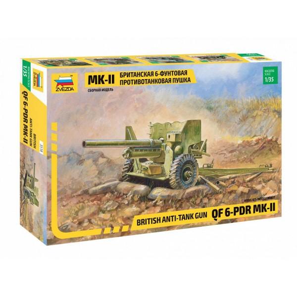 Британская 6-фунтовая противотанковая пушка Mk-II