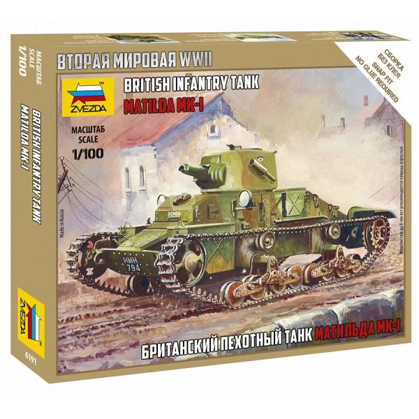 Британский пехотный танк Матильда МК-I