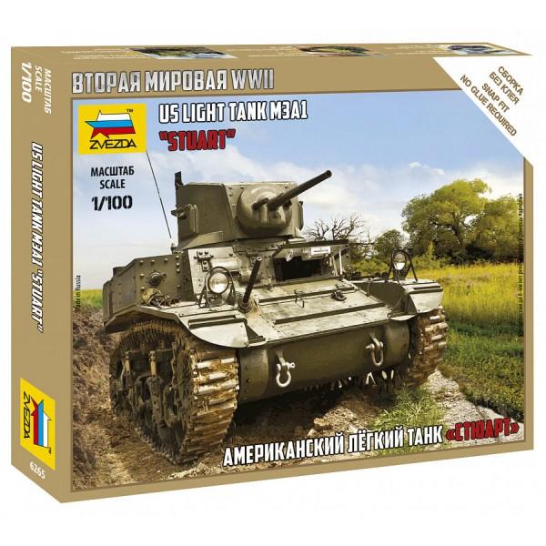 """Американский танк """"Стюарт"""""""