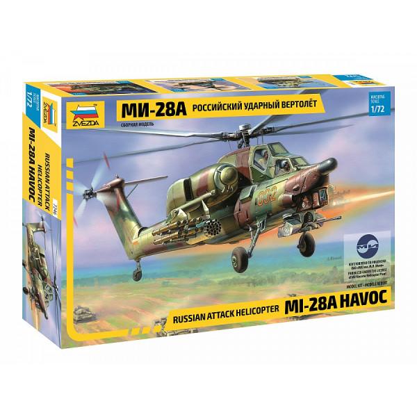 Российский ударный вертолёт Ми-28А